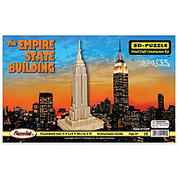 Puzzled® 58-Piece Empire State Building 3D Wooden Puzzle