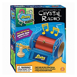 Scientific Explorer Slinky Science Kit - Crystal Radio