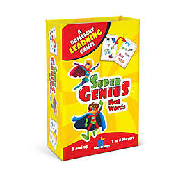 Blue Orange Games Super Genius Educational Game - First Words