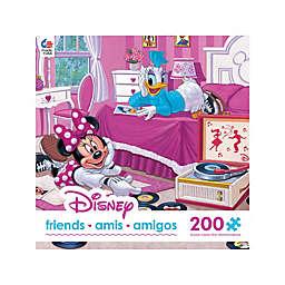 <br />Ceaco 200-Piece Disney® Friends Minnie and Daisy Favorite Tune Puzzle