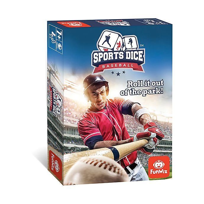 Alternate image 1 for FoxMind Games Sports Dice Baseball Family Game