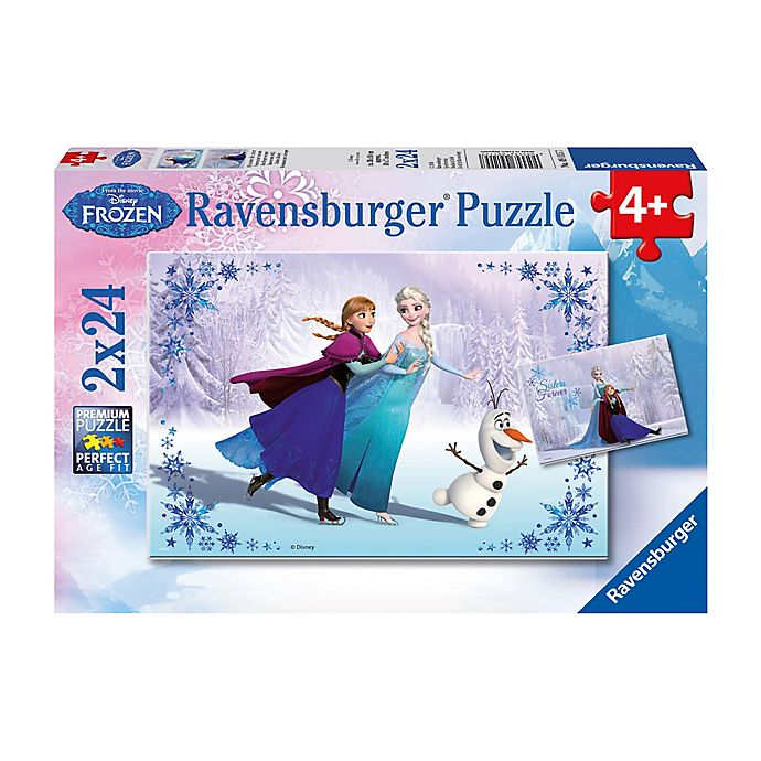 Alternate image 1 for Ravensburger Disney Frozen 24-Piece Sisters Always 2-Pack Jigsaw Puzzles
