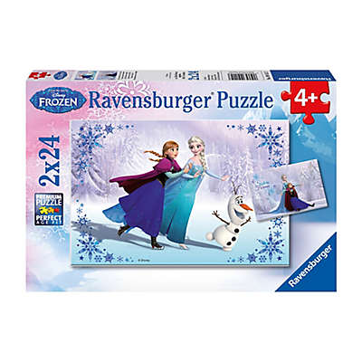 Ravensburger Disney Frozen 24-Piece Sisters Always 2-Pack Jigsaw Puzzles