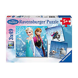 Ravensburger Disney Frozen 49-Piece Winter Adventures 3-Pack Jigsaw Puzzles