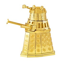 Fascinations Metal Earth 3D Metal Model Kit - Dr. Who Gold Dalek