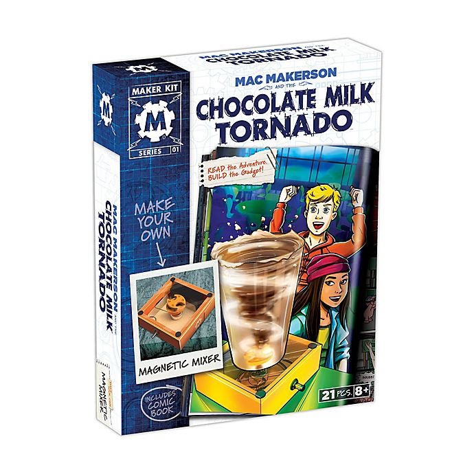 Alternate image 1 for SmartLab Toys Mac Makerson and the Chocolate Milk Tornado Science Kit
