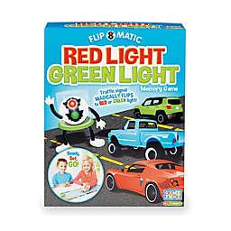 Game Zone Flip-o-matic Red Light Green Light Memory Game