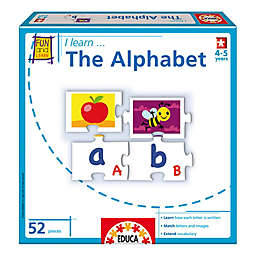 "Educa ""I Learn the Alphabet"" Educational Puzzle Game"