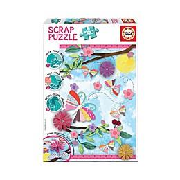 Educa Scrap 500-Piece Garden Art Jigsaw Puzzle