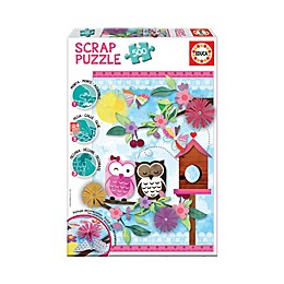 Educa Scrap 500-Piece Valentine Art Jigsaw Puzzle