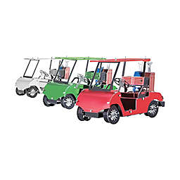 Fascinations Metal Earth Golf Cart Set 3D Metal Model Kit
