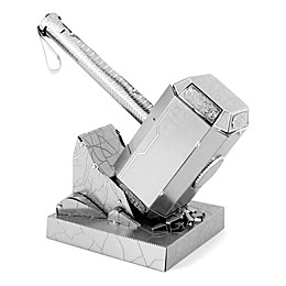Fascinations Metal Earth 3D Metal Model Kit - Marvel Avengers Mjolnir (Thor's Hammer)