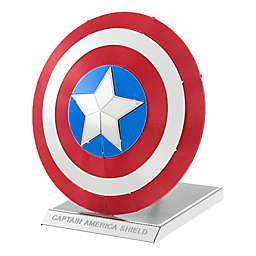 Fascinations Metal Earth 3D Metal Model Kit - Marvel Avengers Captain America's Shield