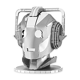Fascinations Metal Earth 3D Metal Model Kit - Dr. Who Cyberman Head