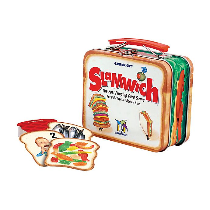 Alternate image 1 for Gamewright Slamwich Deluxe Card Game in a Tin