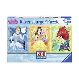 Ravensburger Beautiful Disney Princesses 200-Piece Panoramic Puzzle