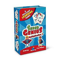 Blue Orange Games Super Genius Educational Game - Multiplication 1