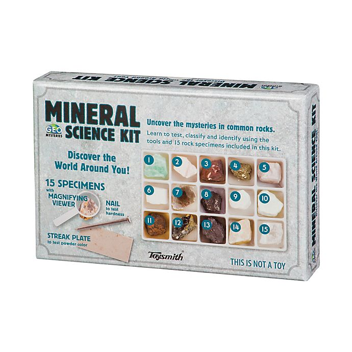 Toysmith Mineral Science Kit   Bed Bath & Beyond