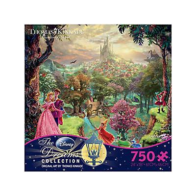 Ceaco Thomas Kinkade Disney Dreams 750-Piece Sleeping Beauty Jigsaw Puzzle