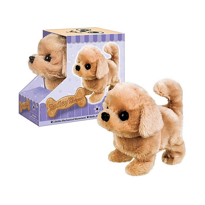 Alternate image 1 for Westminster Inc. Paw Pals Electronic Plush Animal - Redley the Retriever