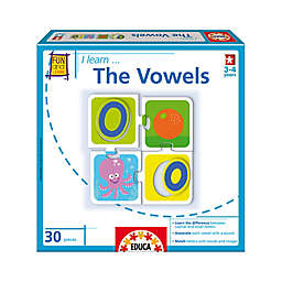 Educa 30-Piece I Learn... The Vowels Jigsaw Puzzle