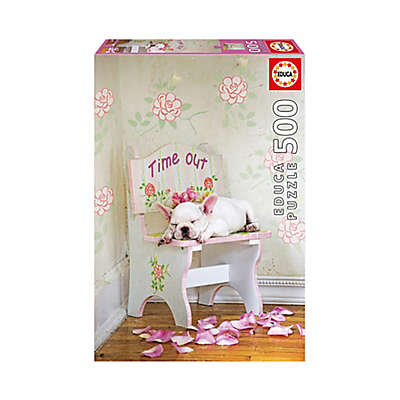 Educa Lisa Jane 500-Piece Taking Time Out Jigsaw Puzzle