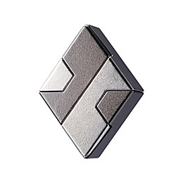 BePuzzled Hanayama Level 1 Cast Puzzle - Diamond