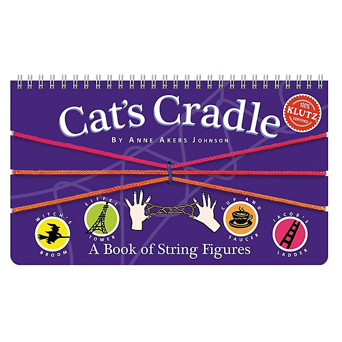 Alternate image 1 for Klutz Cat's Cradle - A Book of String Figures Activity Book