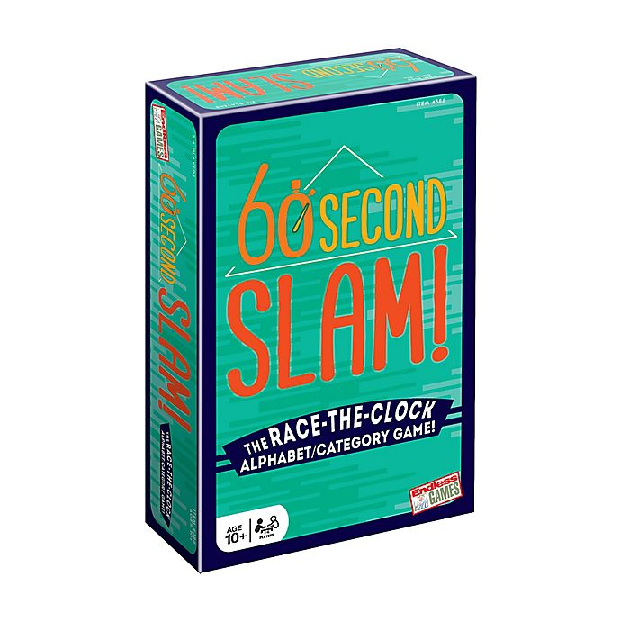Alternate image 1 for Endless Games 60-Second Slam! Family Game
