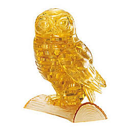 BePuzzled 42-Piece Owl 3D Crystal Puzzle
