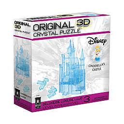 BePuzzled 71-Piece Disney Cinderella's Castle 3D Crystal Puzzle