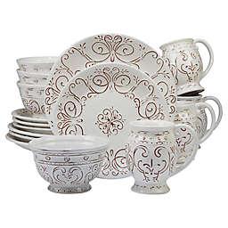 Certified International Terra Nova Dinnerware Collection in White