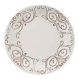 Certified International Terra Nova Dinner Plates in White (Set of 4)