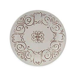 Certified International Terra Nova Salad Plates in White (Set of 4)