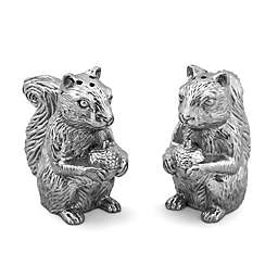 Arthur Court Designs Majestic Forest Squirrel Salt and Pepper Set
