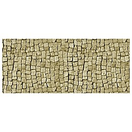 FoFlor Stone Square Kitchen Mat in Beige