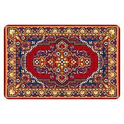 FoFlor Raja Kitchen Mat in Red