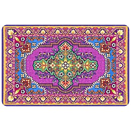 FoFlor Raja Kitchen Mat in Purple