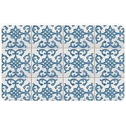 FoFlor Bantry Bay Kitchen Mat in Blue