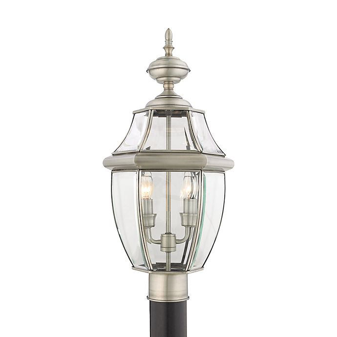 Quoizel Outdoor Lighting Newbury: Buy Quoizel® Lighting 2-Light Newbury Outdoor Post-Mounted