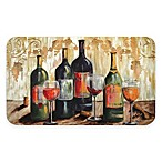 "Home Dynamix Designer Chef 18"" x 30"" Rustic Wine Anti-Fatigue Kitchen Mat in Beige"