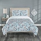 Annabelle Reversible King Quilt Set in Spa