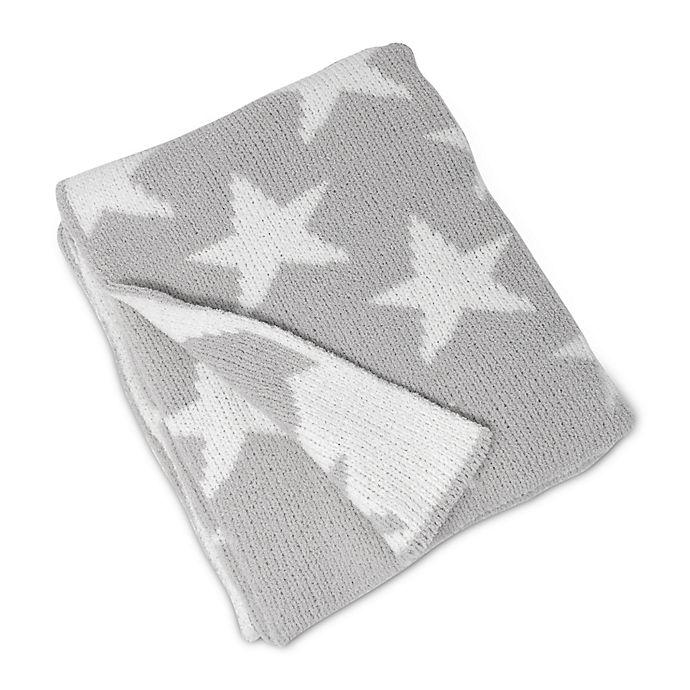 Alternate image 1 for Living Textiles Stars Chenille Baby Blanket in Grey