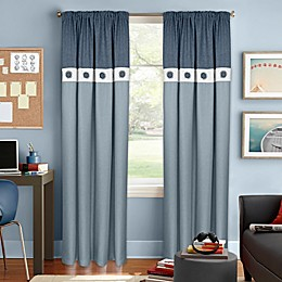 Colordrift Wallace Rod Pocket Room Darkening Window Curtain Panel