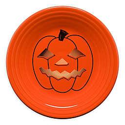 Fiesta® Halloween Glowing Pumpkin Luncheon Plate in Orange