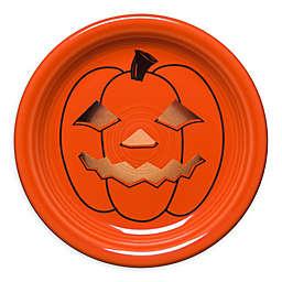 Fiesta® Halloween Glowing Pumpkin Appetizer Plate in Orange