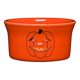 Fiesta® Halloween Glowing Pumpkin Ramekin in Orange