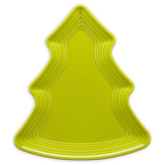 Alternate image 1 for Fiesta® Christmas Tree-Shaped Plate