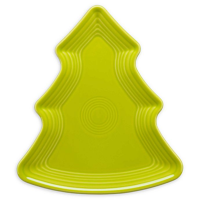 Alternate image 1 for Fiesta® Christmas Tree-Shaped Plate