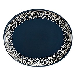 Over and Back® Marakesh 16.5-Inch Oval Serving Platter in Teal